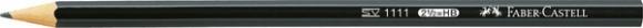 Bleistift 1111 HB, 6-Kant, schwarz
