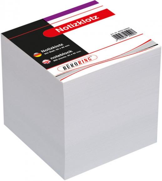 Büroring Ersatzpapier für Zettelbox, weiß, 700 Blatt