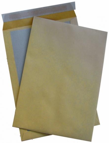 Versandtasche, C4, Papprückwand, Haftklebung, natron, 110g