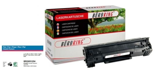 Toner Cartridge schwarz, # CE278X für HP LaserJet P1566/P1606,