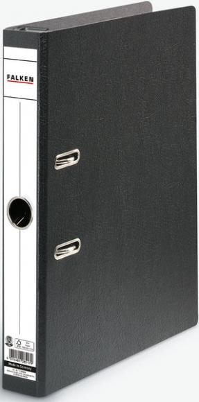 Hängeordner A4, S50, Hartpappe schwarz