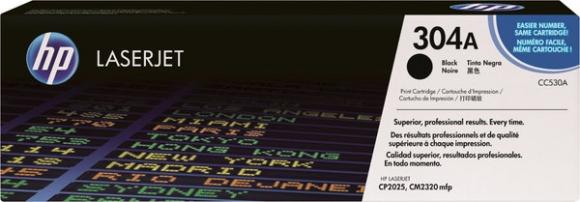 Toner Cartridge 304A schwarz für Color LaserJet CM2320fxi MFP,