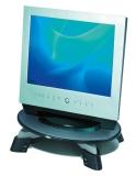 Der Monitorständer für TFT/LCD ist in 3 Stufen höhenverstellbar und um