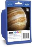 Multipack Tintenpatronen farbig LC-1240 für MFC-J6510DW, MFC-J6710DW