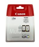 Multipack PG-545/CL-546 für PIXMA MG2250, MG2450, MG2550
