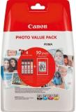 Multipack CLI-581 CMYK, Photopapier für PIXMA TR7550, TR8550, TS6150,