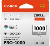 Tinte PFI-1000GY für Pro-1000, grau, Inhalt: 80 ml