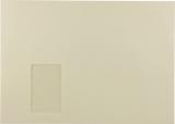 Briefumschlag C4 HK mit Fenster 120g hell-chamois 324x229mm