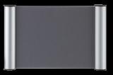 Türschild Clip 245x155mm, silber Franken # BS0603