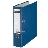 Ordner 101050, PP A4 RB 80mm blau 180° Ordner Präzisionsmechanik