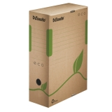 Archiv Box ECO, 100mm, 327x80x233mm m. Griffloch, naturbraun