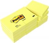 Post-it Notes 653E 38x51mm gelb Block = 100 Blatt