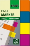 Haftmarker 20 x 50mm 4 Farben im Pocket