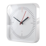 Design-Wanduhr artetempus® Modell: litho, white, geräuschloses