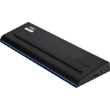 Docking Station USB 3.0 SuperSpeed Dual Video With Power Black