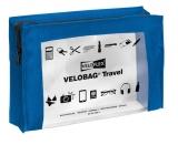 Velobag Travel A5, 230x160, blau PVC-Folie transparent mit farbiger