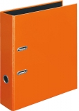 Briefordner Velocolor A4 orange, Hebelmechanik, f. ca. 560 Blatt