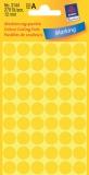 Markierungspunkte, gelb, 12mm
